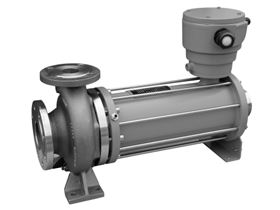 The single-stage canned motor pump in Hermetic-Pumpen's HCN/HCNF range.