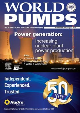 The latest issue of World Pumps will be available shortly.