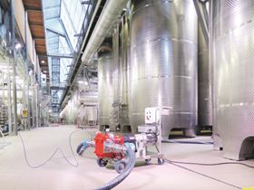 Vogelsang pumps are suitable for winemakers' processes.