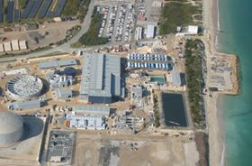 Figure 1. The Perth plant during construction in October 2006.