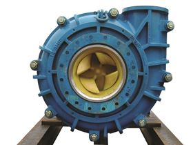 A profile of a Warman froth pump.