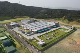 Wilo's new plant in Busan, South Korea