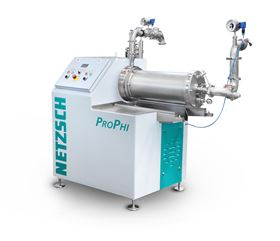 The PROPHI 20 is a disc agitator bead mill modified for coarse grinding.