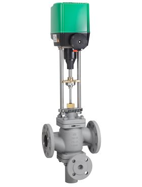 The RTK discharge and pump protection control valve provides the additional flow that is required in a closed loop.