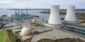 The Brayton Point power station in Somerset, Massachusetts was once the largest fossil-fuel power plant in New England.