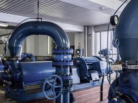 The Perlenbach water supply association in Germany's Eifel region relies on solutions from Schaeffler when it comes to preventive maintenance.