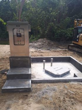A Grundfos PPS installed in Lio, El Nido, Palawan in the Philippines.