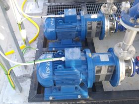 Robuschi supplied more than 20 pumps for biological sludge circulation in ultrafiltration units.