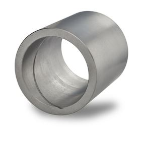 The Graphalloy spiral groove pump bushing was manufactured and shipped within an hour.