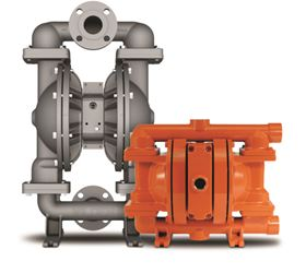Wilden's CSA-certified natural gas-operated double-diaphragm pump.