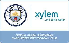 Xylem partners with Manchester City Football Club on water technology