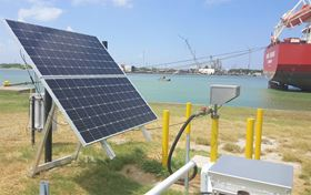 The Apollo solar-powered piston pump is ecologically friendly and can be used in remote sites.