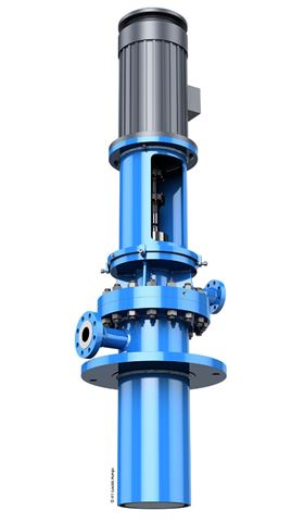 The ITT Goulds Pumps VICR is designed for light hydrocarbon fluids and for low-flow, high-head applications.