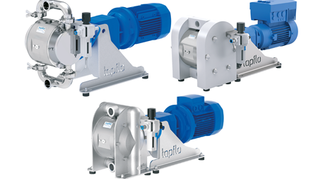 Tapflo introduces electrically operated AODD pumps