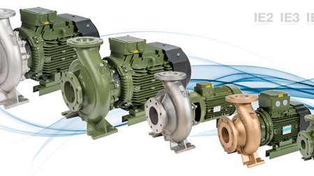 SAER enlarges range of close coupled pump series