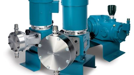 Neptune Chemical Pump at AWWA's ACE13 Show