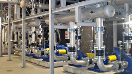 KSB ITUR providing particle accelerator with 57 cooling pumps