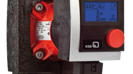 KSB's wet rotor pump offers energy saving