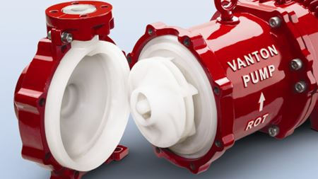 Vanton Pumps releases CHEM-GARD CGMC centrifugal pump