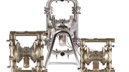 Verder introduces Verderair Hi-Clean diaphragm pumps