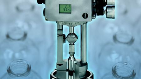 Aseptic control valves available