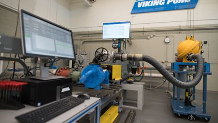 Viking Pump expands Cedar Falls lab