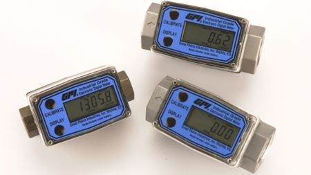 Grade flow meters can be custom designed