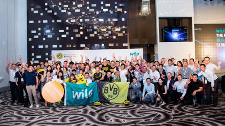 Wilo supports Borussia Dortmund on Asia tour