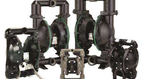 ARO Pro Series pumps meet the needs of oil, gas & marine applications