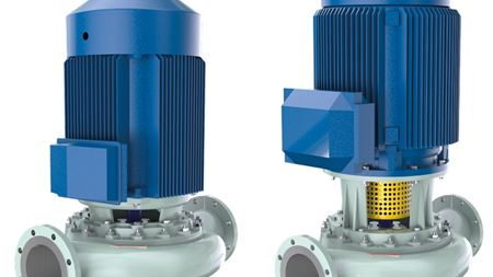 Sulzer's SIL inline single stage centrifugal pump