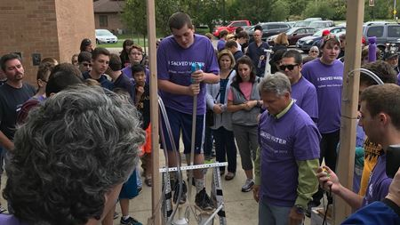 Students develop human-powered pumps in Xylem-sponsored challenge