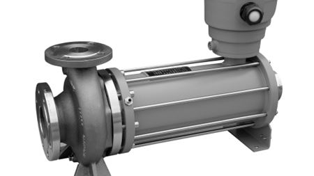 Canned motor pump suitable for aggressive media