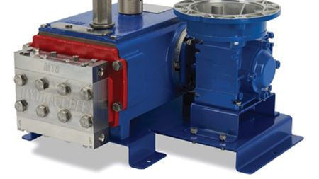 Hydra-Cell model MT8 triplex metering pump