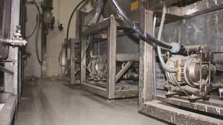 Wilden pumps ensure reliable operations for wellness plant