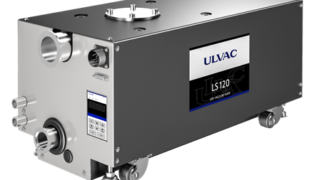 ULVAC launches dry screw pump series