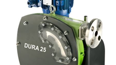 Verderflex Dura 25 for glue transfer