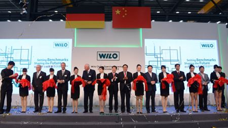 Wilo opens new manufacturing facility in Beijing