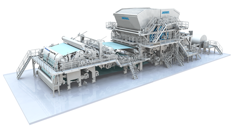 Andritz to provide PrimeLine tissue machine for Russian paper mill