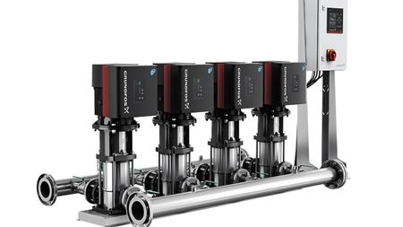 Grundfos MGE motor achieves 10% energy saving