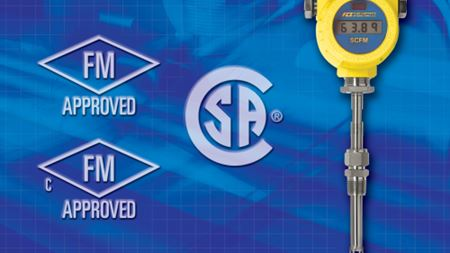Flowmeter FM and CSA approved