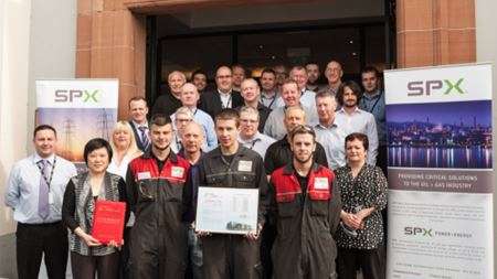 SPX's ClydeUnion Pumps recognised for supplier excellence by CNPEC