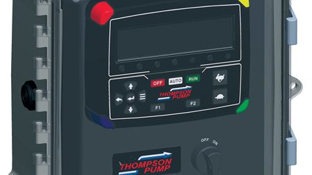 Thompson Pump showcased interactive control panel at WEFTEC 2017