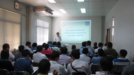 EBARA holds seminars on flood control pumps in Thailand