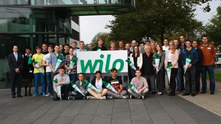 Wilo hires 24 new apprentices
