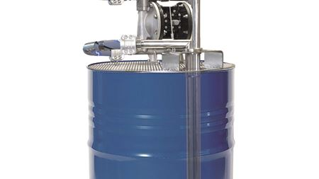 Lutz develops mixing and pumping system