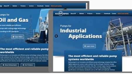 Ruhrpumpen launches redesigned website