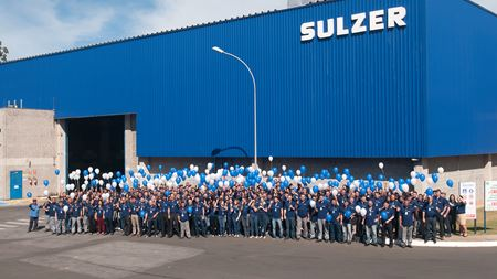 Sulzer celebrates 70 years in Brazil