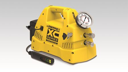 Enerpac releases portable battery pump