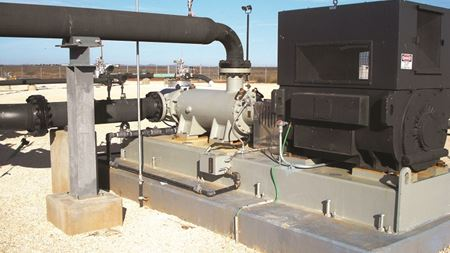 CIRCOR three-screw pumps aid power plant