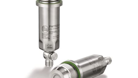 Pressure transmitter released by ifm electronic